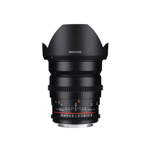 Samyang 24mm T1.5 VDSLR II Lens for Canon Online Buy Mumbai India 1