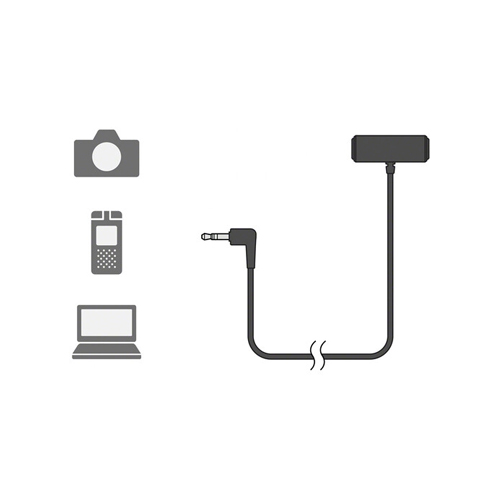Sony ECM LV1 Compact Stereo Lavalier Microphone Online Buy Mumbai India 04