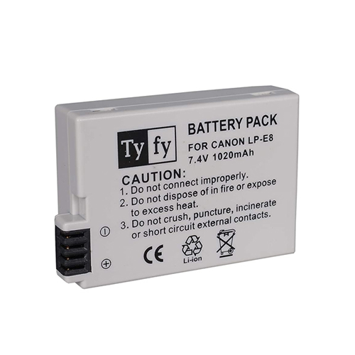 Tyfy LPE8 Battery For Canon Online Buy Mumbai India 1