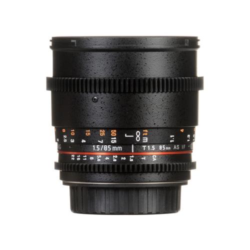 Samyang 85mm T1.5 VDSLRII Cine Lens for Canon Online Buy Mumbai India 1